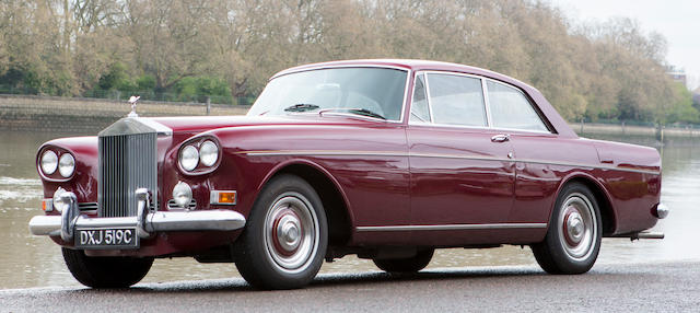 1965 Rolls-Royce Silver Cloud III Coupé  Chassis no. CSC65B