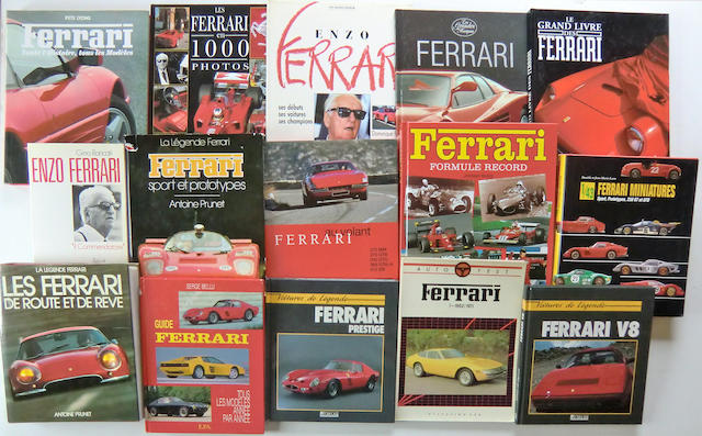 A selection of Ferrari themed books (16)