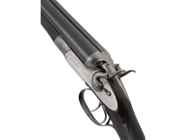 A rare 12-bore sidelock hammer ejector gun by Stephen Grant & Sons, no. 6340