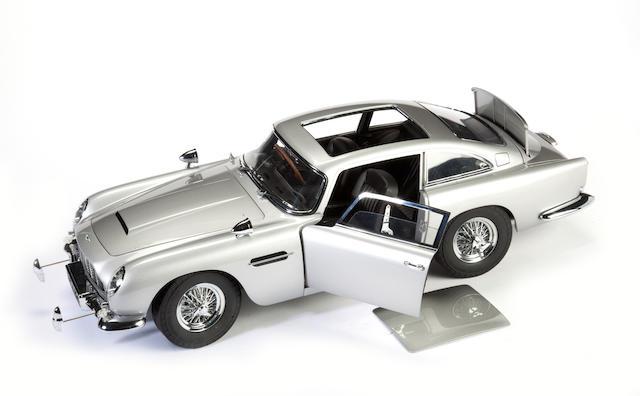 Bonhams A 1 8 Scale Model Of The James Bond 007 Goldfinger Aston Martin Db5 Qty