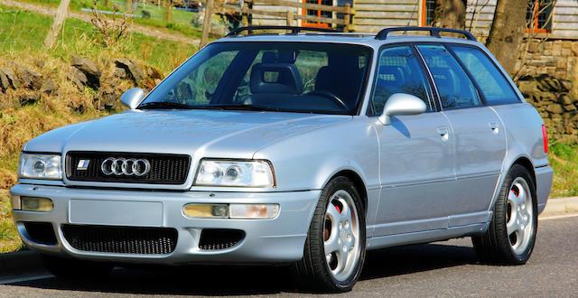 1995  Audi  RS2 Avant  Chassis no. WACZZZ8CZTZ000169