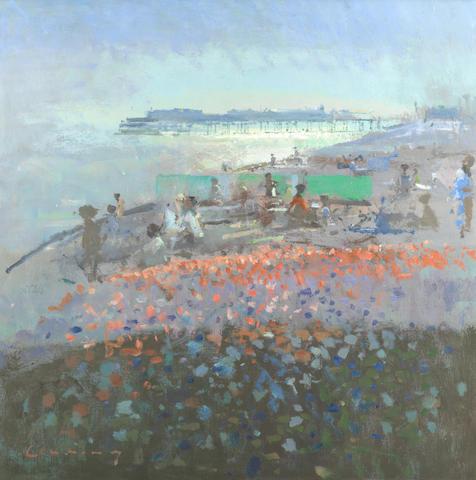 Frederick Cuming RA NEAC (British, born 1930) Hastings Pier