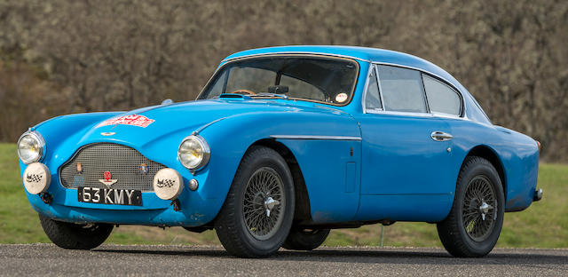 1957 Aston Martin DB2/4 MkII Coupé DESIGN PROJECT 193 (DBMkIII PROTOTYPE)  Chassis no. AM300/3A/1300