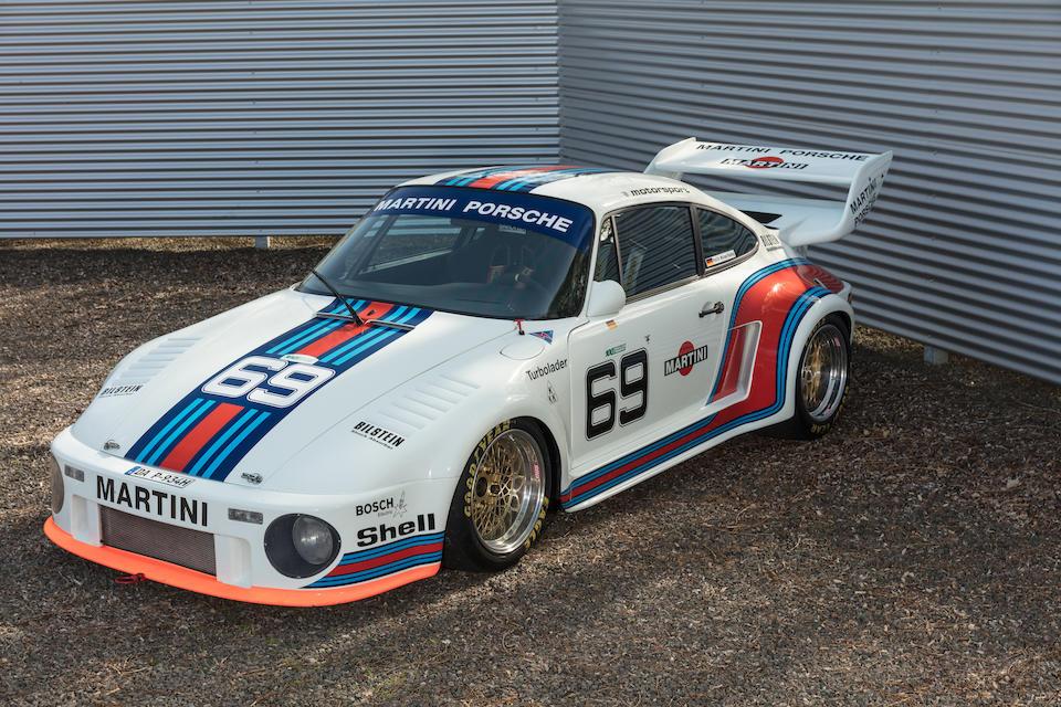 1976  Porsche  934/5 Kremer Group 4 Competition Coupé  Chassis no. 930 6700478