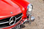 1962 Mercedes-Benz 300 SL Roadster  Chassis no. 19804210003042