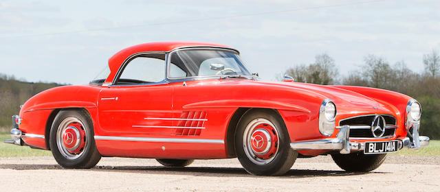 1962 Mercedes-Benz 300 SL Roadster with Hardtop  Chassis no. 19804210003042