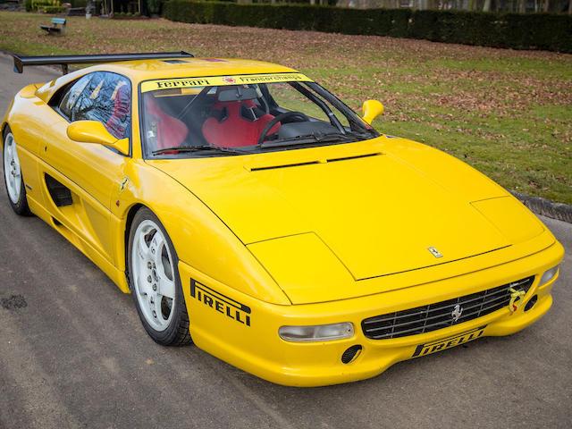 1996 Ferrari F355 Challenge Coupé  Chassis no. ZFFPR42B000104539
