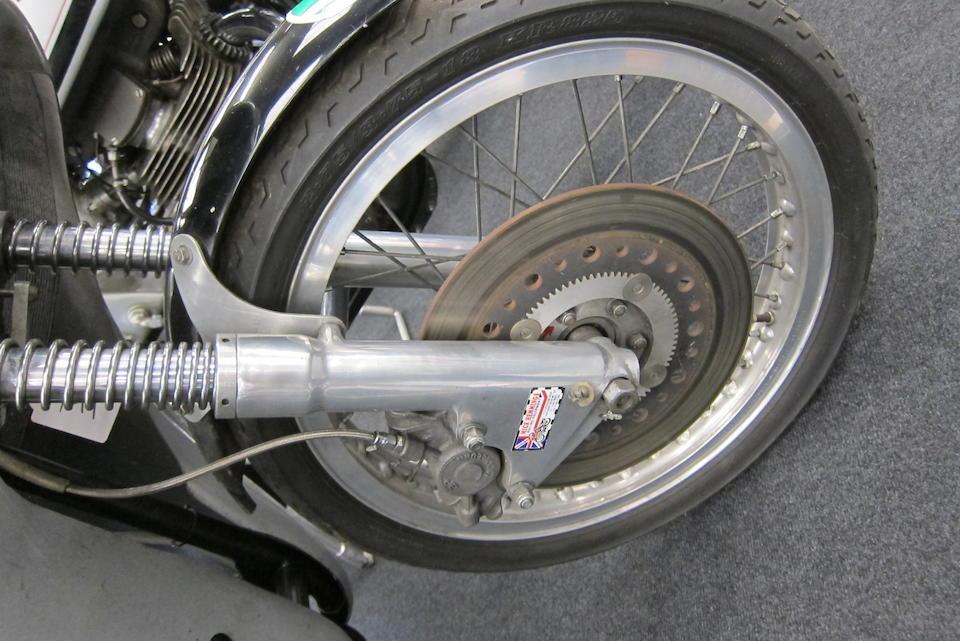 1961 Norton 350cc Manx Racing Motorcycle Frame no. 10M 97327 Engine no. 10M 097327