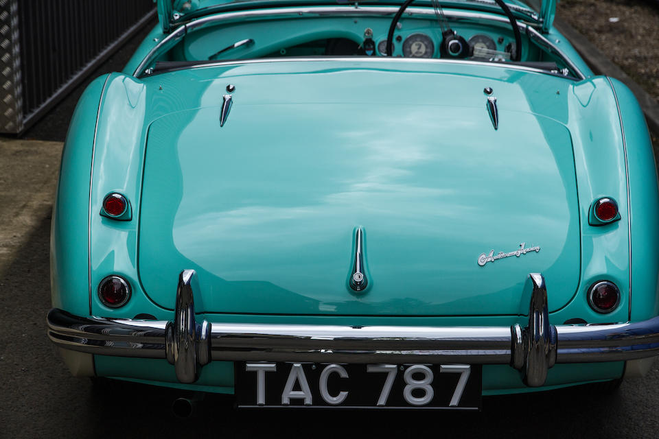 1955 Austin Healey 100 BN2 Roadster  Chassis no. BN2-228607