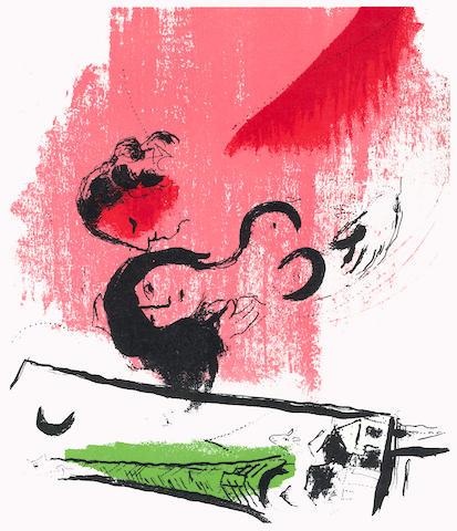 CHAGALL (MARC) LASSAIGNE (JACQUES) Chagall, Paris, Maeght, [1957]