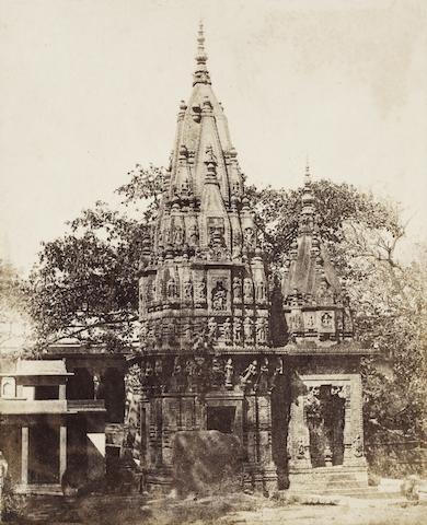DE LA GRANGE (ALEXIS) 'Temple hindou moderne à Mirzapour, Bengale', Lille, Blanquart-Evrard, 1851