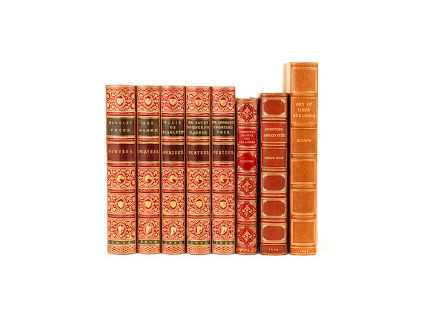 BINDINGS SURTEES (ROBERT) [Sporting Novels], 5 vol., 1853-1865; and 15 others