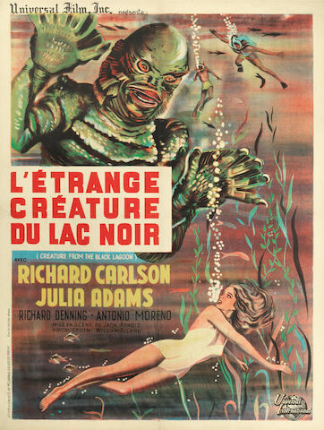 The Creature From The Black Lagoon, Universal International, 1954,