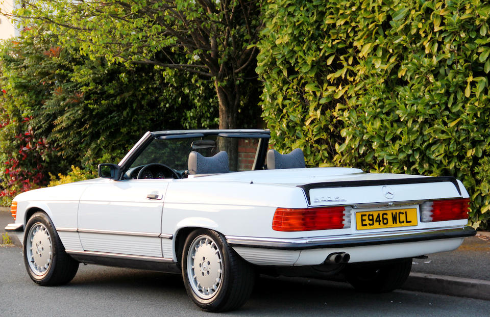 1987 Mercedes-Benz 500 SL Convertible with Hardtop  Chassis no. WDB107461A069449 Engine no. 117964 12 002895