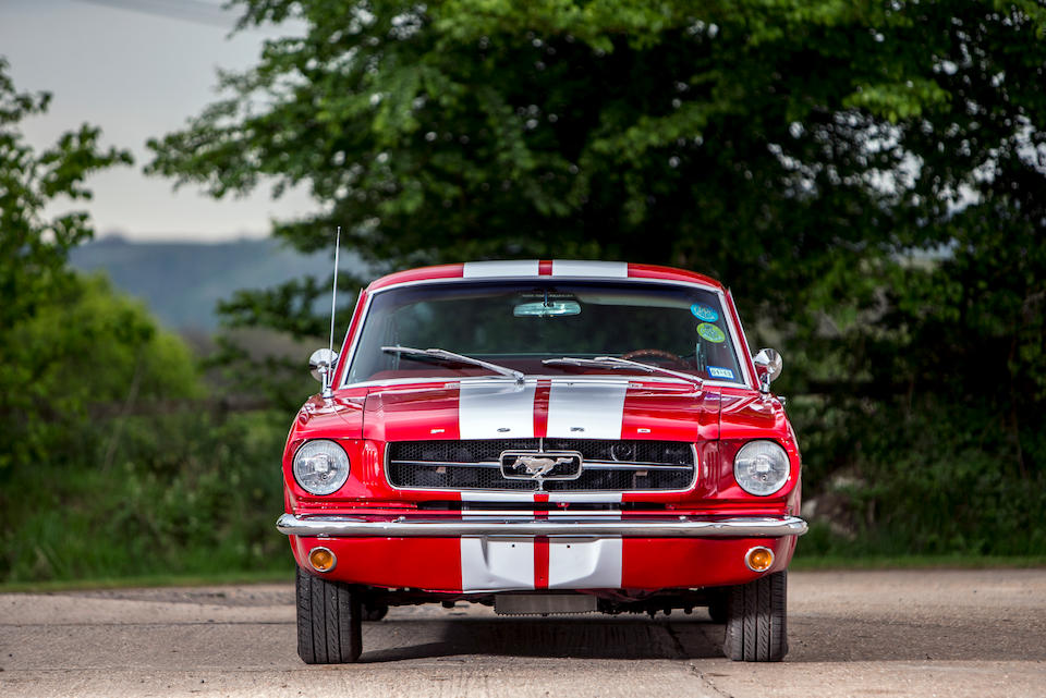 1964 Ford Mustang Fastback Coupe  Chassis no. 5F09A323077