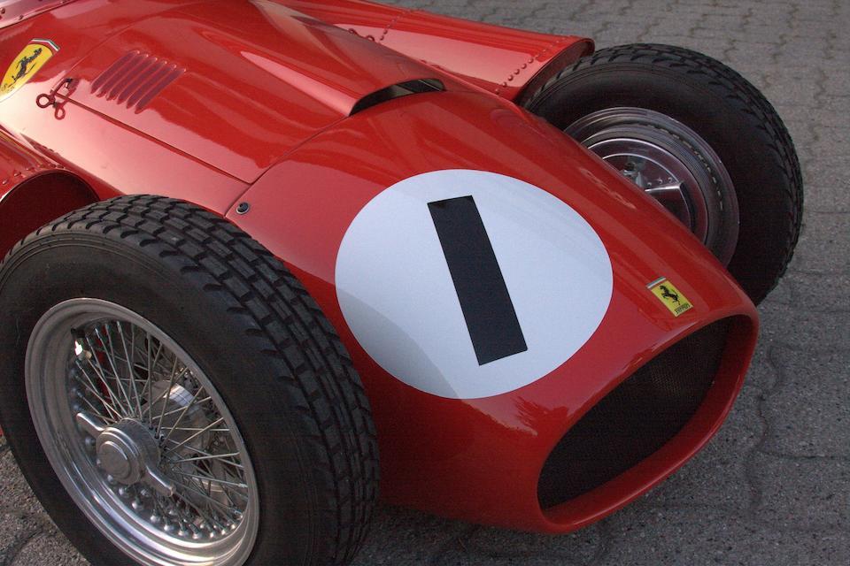 A superb 1:2 scale hand-made Scuderia Ferrari Lancia D-50 child's car,