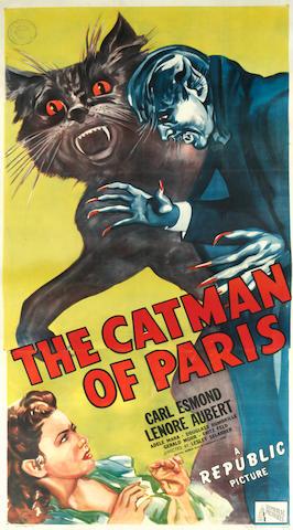 The Catman of Paris, Republic, 1946,