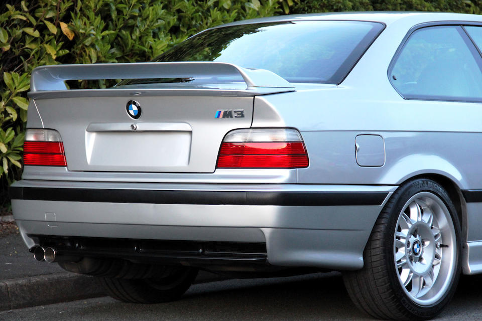 1998 BMW  M3 E36 Coupe  Chassis no. WBSBG91-040EW41039