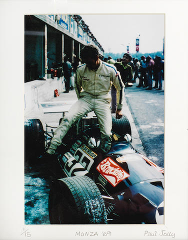 """A set of twelve limited edition photographs titled """"Monza 69"""" by Paul Jolly,  ((12))"""