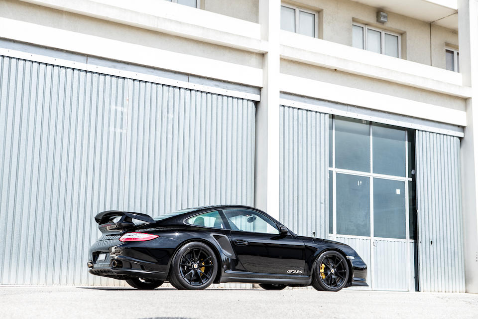 The property of Thor Hushovd,2010 Porsche 911 Type 997 GT2 RS Coupé  Chassis no. WP0ZZZ99ZBS776186