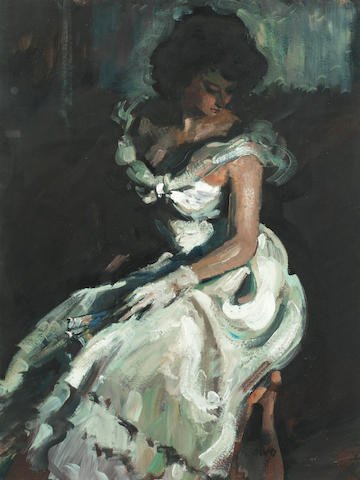 Sherree Valentine-Daines (British, born 1956) The fan