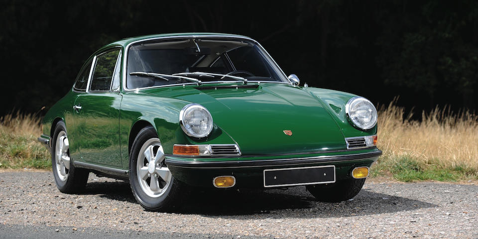 German delivery from new,1967 Porsche 911S 2.0 'Sunroof' Coupé  Chassis no. 306438S