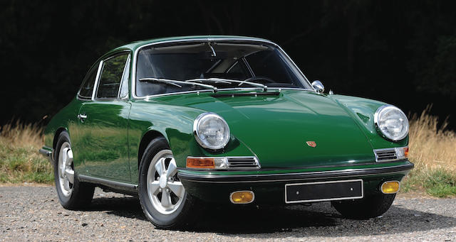 1967 Porsche 911S 'Sunroof' Coupé  Chassis no. 306438S