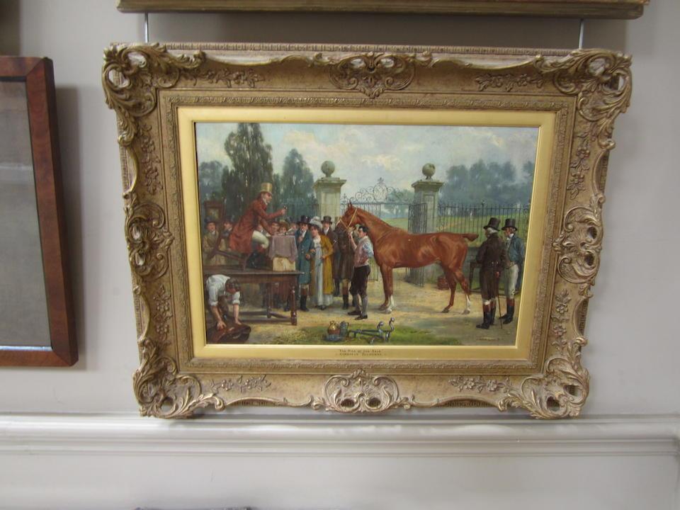 George Goodwin Kilburne, RI, RBA (British, 1839-1924) The Pick of the Sale