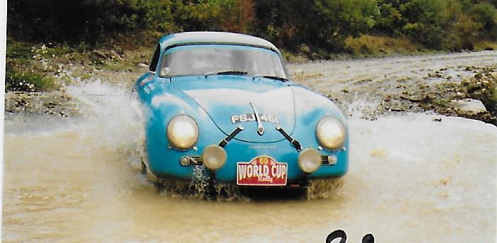 1957 Porsche 356A 1.7-Litre Rally Car  Chassis no. 100869