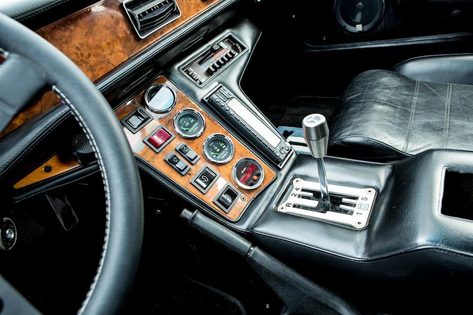 1990 De Tomaso Pantera GT5-S Coupé  Chassis no. ZDT874000LA009555
