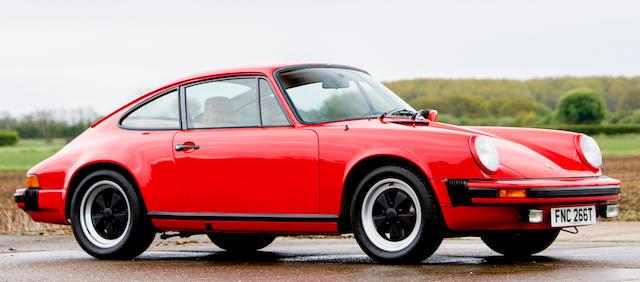 1978 Porsche 911 SC 3.0-Litre Coupé  Chassis no. FNC 266T Engine no. 9119200479