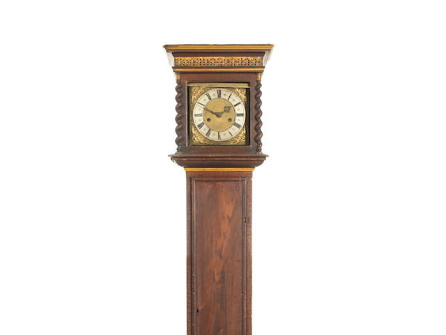 A previously unrecorded and recently discovered, horologically important, last quarter of the 17th century eight day longcase clock  John Fromanteel, London