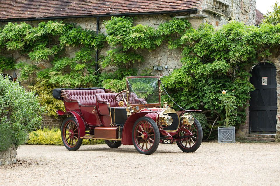 1908 Hotchkiss 16/20hp Type T Roi des Belges  Chassis no. 1219