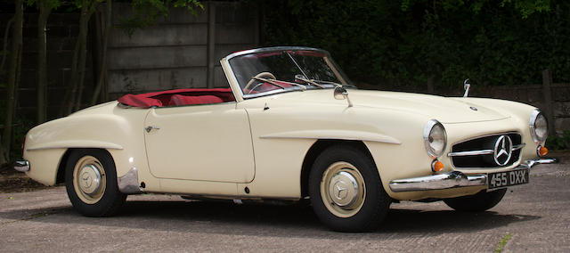 1962 Mercedes-Benz 190 SL Roadster  Chassis no. 12104220023634