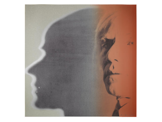 Andy Warhol (American, 1928-1987) The Shadow, from Myths Screenprint in colours with diamond dust, 1981, on Lenox Museum Board, signed and numbered 80/200 in pencil (there were also thirty artist's proofs), printed by Rupert Jasen Smith, published by Ronald Feldman Fine Arts, Inc., New York, the full sheet, in good condition Sheet 965 x 965 mm.