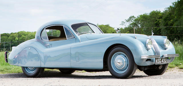 1953 Jaguar XK120 Fixed-head Coupé  Chassis no. 669035