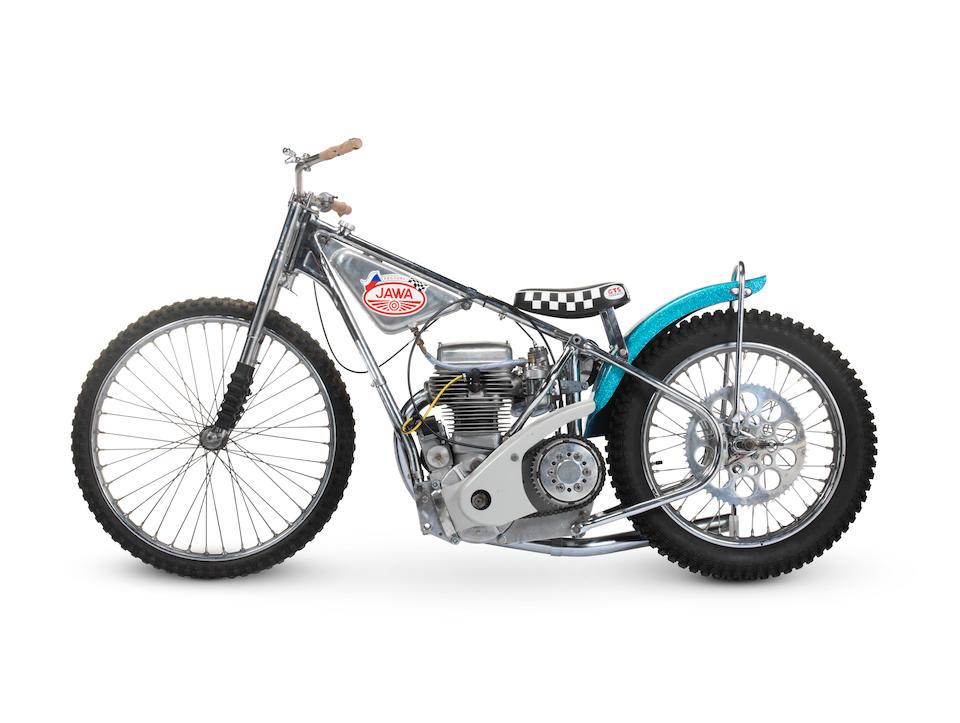 Incorporating the 1969 Speedway World Championship Final-winning engine, 1969 Jawa Model 890 Speedway Racing Motorcycle Frame no. 3611 Engine no. 4414 69 IM 05