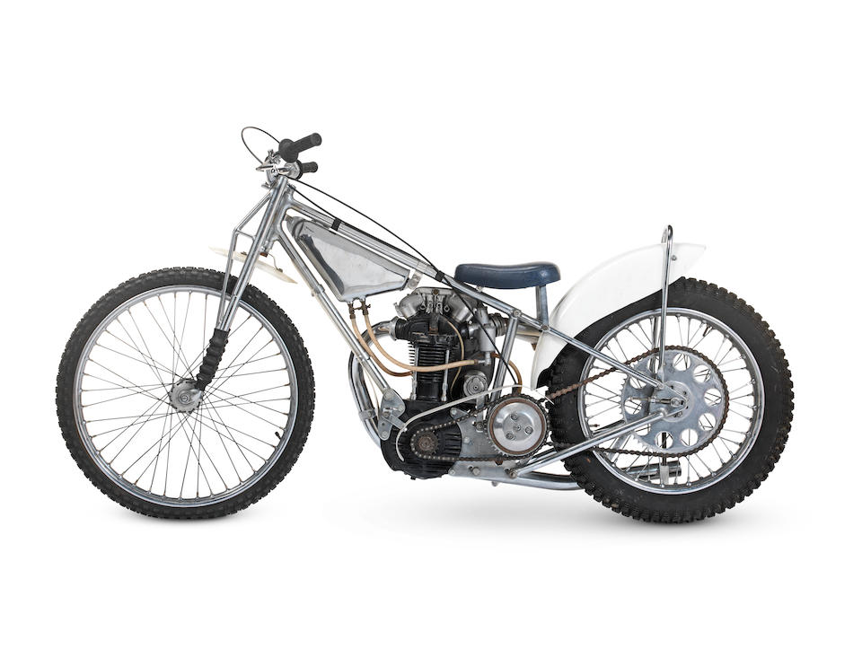 The 1966 and 1967 Speedway World Championship Finals; 1966 European Championship-winning; 1968 British Championship-winning,, 1961 Rotrax-JAP Speedway Racing Motorcycle Engine no. JOS 6449