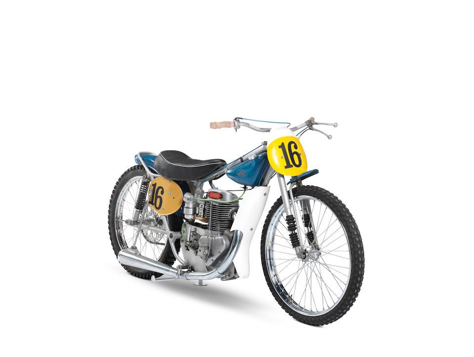 The 1971 Long Track World Final, 1971 Jawa Long Track Racing Motorcycle Frame no. 136 Engine no. P 500 126