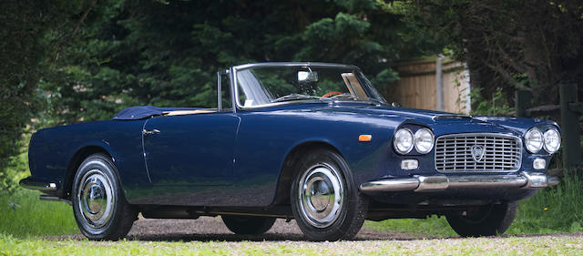 1961 Lancia Flaminia 2.5-Litre Convertible with Hardtop  Chassis no. 824.04-1355