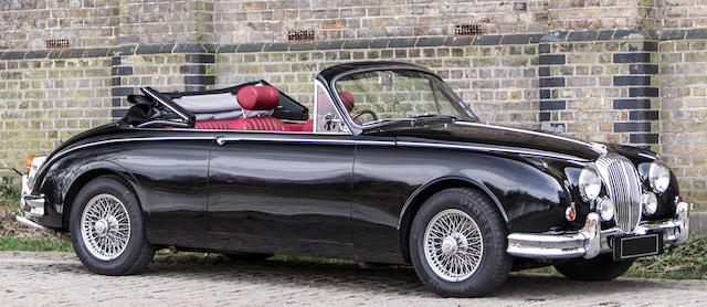 1964 Daimler 2½-Litre V8 Vicarage Convertible  Chassis no. 1A7045BW Engine no. 7A11469