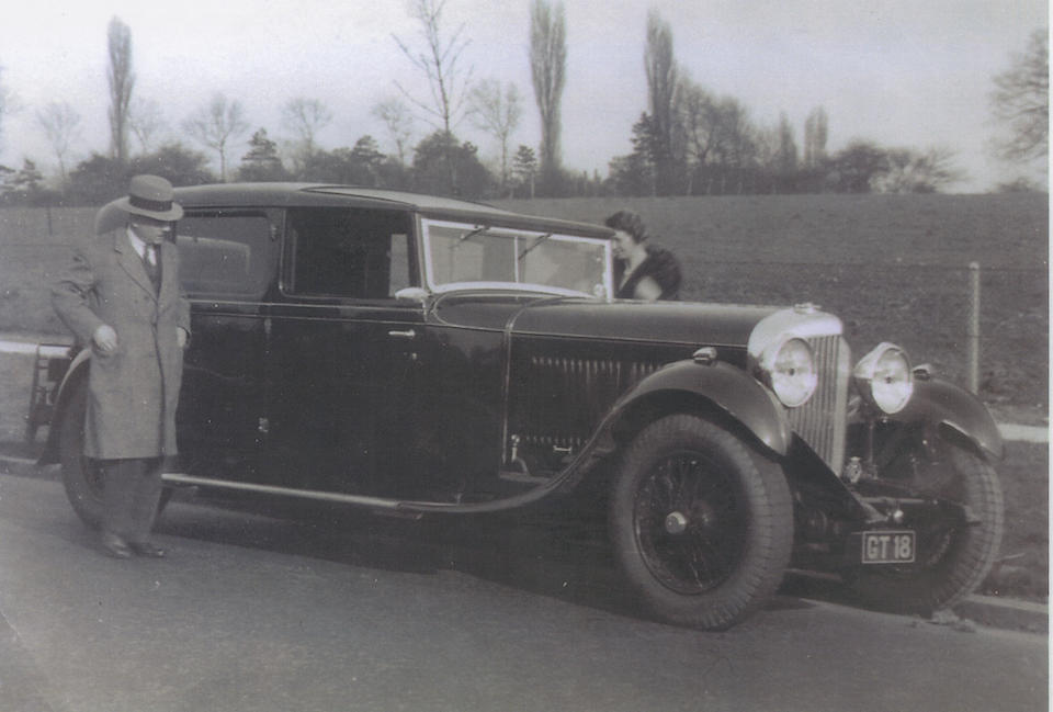 1931 Bentley 8-Litre Sedanca de Ville  Chassis no. YM 5034