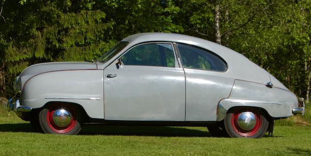 Saab 92 De Luxe berline 1949