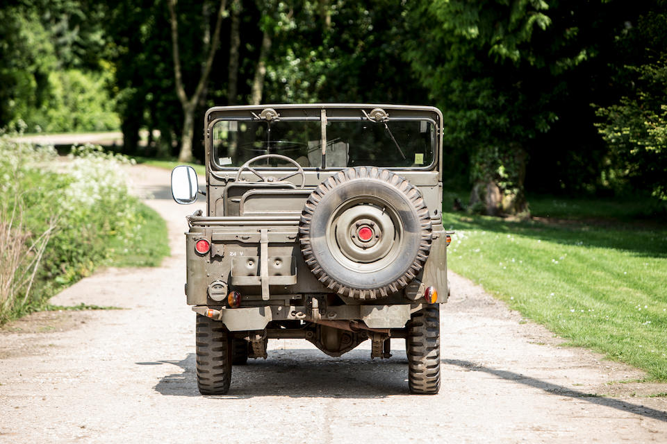 Offered from the Jack Sears Collection,1955 Nekaf M38A1 Jeep 4x4 Utility Truck  Chassis no. MD-10329