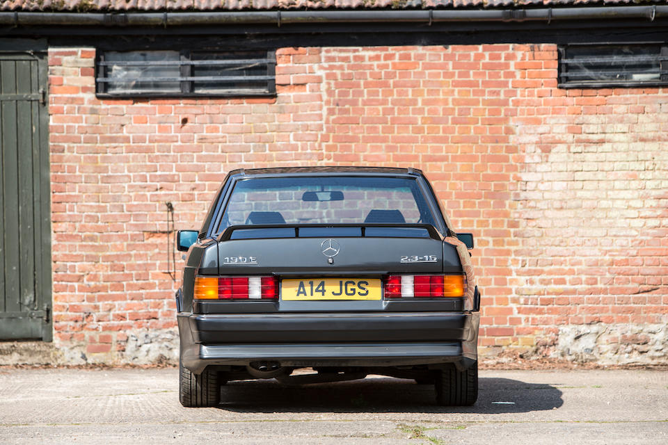 Offered from the Jack Sears Collection,1986 Mercedes-Benz 190E 2.3-16 Cosworth Sports Saloon  Chassis no. WDB2010342F161171