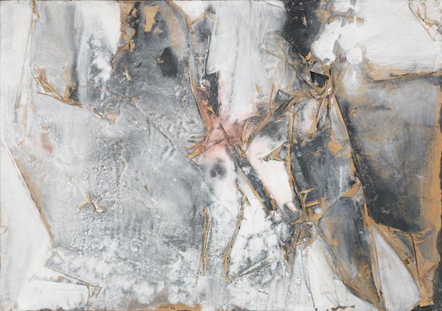 Nikos Kessanlis (Greek, 1930-2004) Abstract 70 x 100 cm.