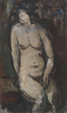 Jean Max Friedrich Welz (South African, 1900-1975) Female Nude