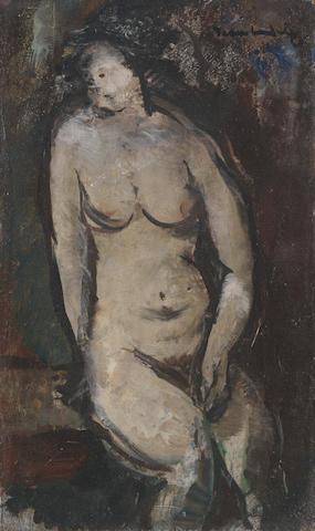 Jean Max Friedrich Welz (South African, 1900-1975) Female Nude