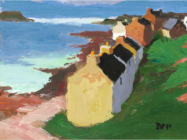 Donald McIntyre (British, 1923-2009) 'Portnahaven no.4'