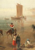 Daniel Thomas Egerton (British, 1797-1842) 'Vera Cruz, and Castle of San Juan D'Ulloa'